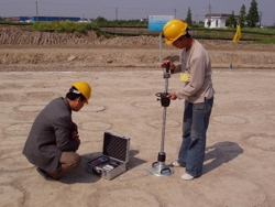 CHINA - Compaction Control after installation of the base courses in highway construction