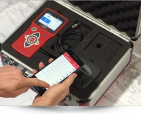 HMPtransfer APP - easy data transfer of the Light Weight Deflectometer HMP LFG to smartphone, tablet or PC