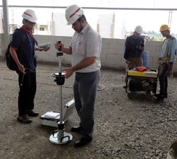 INDONESIA - quality monitoring during hall building with HMP LFG
