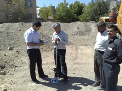 IRAN - testing of modulus of deformation within the framework of soil examination