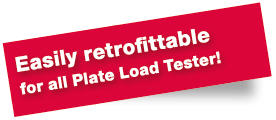 HMP PDG easily retrofittable for alle Plate Load Tester