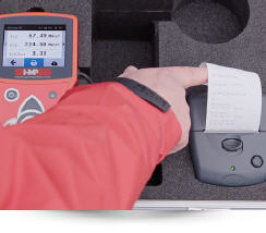 Measuring procedure - Static Plate Load Test by means of the HMP PDGpro 3