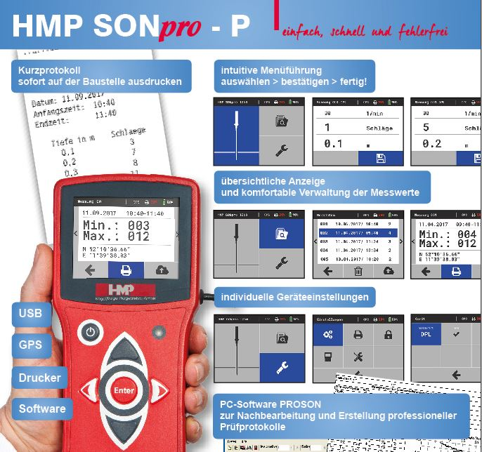 HMP SONpro-P for dynamic probing - please click here to download the flyer