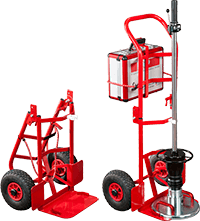 Transport cart, foldable - accessories for Light Weight Deflectometer HMP LFG, Load plate, Light Weight