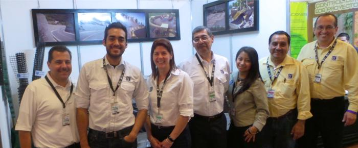 2014-10  Iberoamerican Erosion control Congress held in Guatemala with HMP LFG