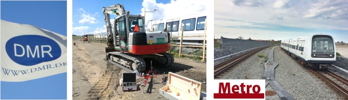 HMP PDGpro - usage in track construction, Metro Copenhagen